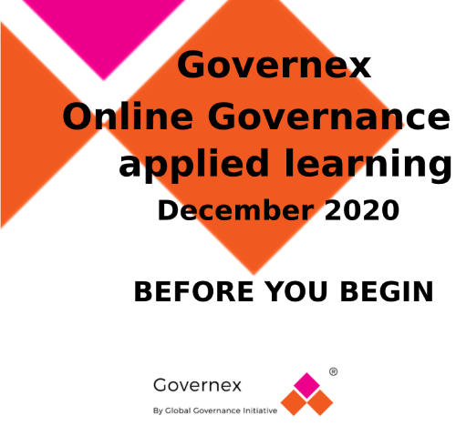 Governex: Before you begin guide course image